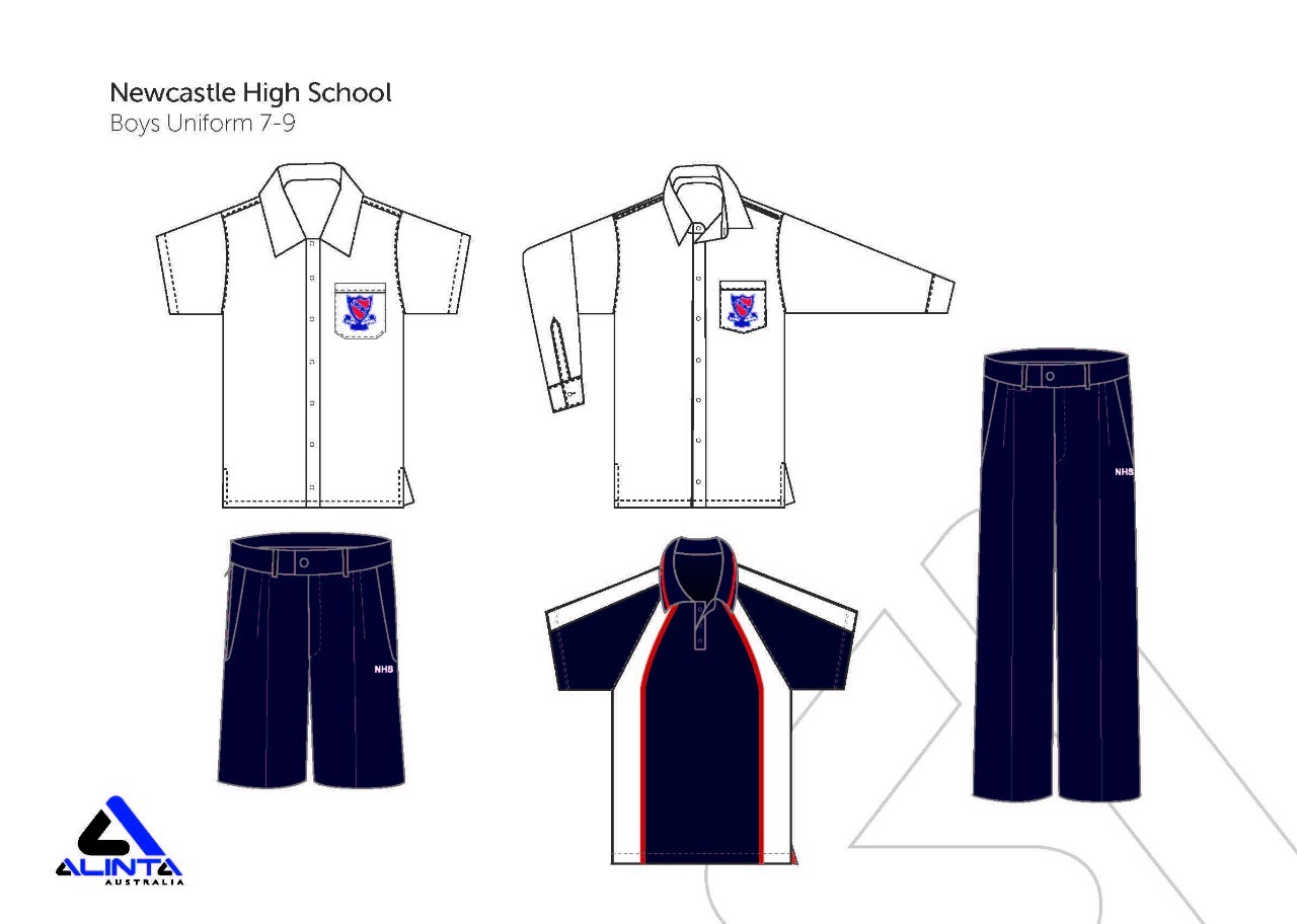 Uniform Sample Boys Year 7 to Year 9